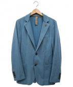 eleventy(イレブンティ)の古着「アンコンジャケット」|ブルー