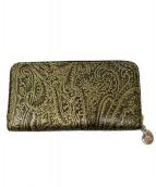 ETRO(エトロ)の古着「長財布」|ブラウン