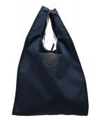 HUNTING WORLD(ハンティングワールド)の古着「ショッピングトートバッグ」|ネイビー