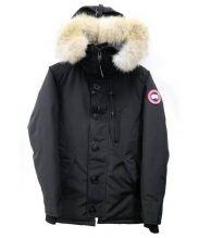 CANADA GOOSE(カナダグース)の古着「CHATEAU PARKA ダウンコート」|ブラック