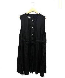 MM6(エムエムシックス)の古着「ブラウスワンピース」|ブラック