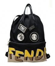 FENDI(フェンディ)の古着「モンスター2wayナイロンリュック」 ブラック