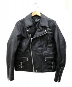 SNOWPEAK(スノーピーク)の古着「FR Rider's Jacket」|ブラック