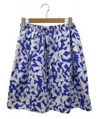JIL SANDER NAVY(ジルサンダーネイビー)の古着「総柄スカート」