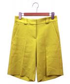 JIL SANDER NAVY(ジルサンダーネイビー)の古着「ハーフパンツ」|イエロー