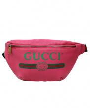 GUCCI(グッチ)の古着「グッチプリントウエストバッグ」|ショッキングピンク