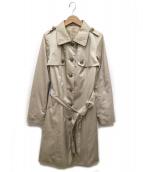 ANAYI(アナイ)の古着「中綿トレンチコート」|ベージュ