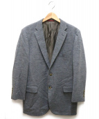 ILFARO by LUCIANO BARBERA(イルファーロバイルチアーノバルベラ)の古着「2Bウールジャケット」 ライトグレー