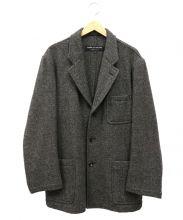 COMME des GARCONS HOMME PLUS(コムデギャルソンオムプリュス)の古着「ヘリンボーンウール3Bジャケット」|ブラウン