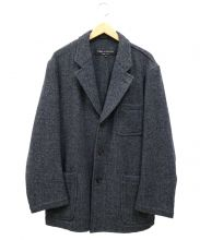 COMME des GARCONS HOMME PLUS(コムデギャルソンオムプリュス)の古着「ヘリンボーンウール3Bジャケット」|グレー
