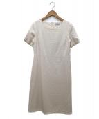 Anatelier(アナトリエ)の古着「パール裾ワンピース」|ホワイト