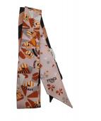 FENDI(フェンディ)の古着「ラッピーリボンスカーフ」|ピンク