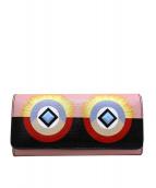 FENDI(フェンディ)の古着「コンチネンタルバブルガム財布」