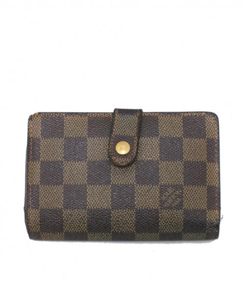 LOUIS VUITTON(ルイヴィトン)LOUIS VUITTON (ルイヴィトン) 2つ折り財布 ブラウン ダミエ N61664 MI0064の古着・服飾アイテム