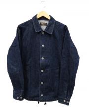 Ahe'hee(アヘヘ)の古着「ドローコードデニムジャケット」|インディゴ