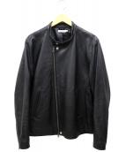THE COMMON TEMPO(コモンテンポ)の古着「ラムレザージャケット」|ブラック