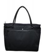 soe(ソーイ)の古着「止水ジップトートバッグ」|ブラック