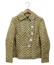 mina perhonen(ミナ ペルホネン)の古着「貝ボタン刺繍ジャケット」