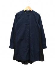 muller of yoshiokubo(ミュラー オブ ヨシオクボ)の古着「デザインシャツワンピース」