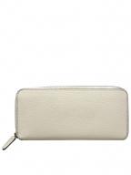 Larcobaleno(ラルコバレーノ)の古着「ラウンドファスナー長財布」|ホワイト