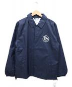 FACTOTUM(ファクトタム)の古着「エクスクルーシブコーチジャケット」 ネイビー