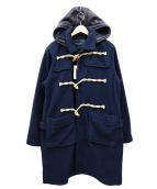 whiz limited(ウィズリミテッド)の古着「フリースダッフルコート」|ネイビー