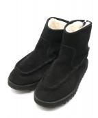 suicoke(スイコック)の古着「シャークソールムートンブーツ」|ブラック