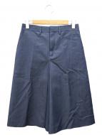 HYKE(ハイク)の古着「CULOTTE PANTS」|ブルー