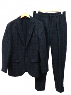 MACKINTOSH PHILOSPHY(マッキントッシュ フィロソフィー)の古着「ブラックウォッチセットアップスーツ」