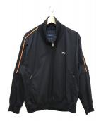 BURBERRY GOLF(バーバリーゴルフ)の古着「ジップアップジャケット」 ブラック