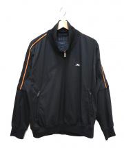 BURBERRY GOLF(バーバリーゴルフ)の古着「ジップアップジャケット」|ブラック