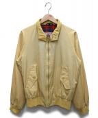 BARACUTA(バラクータ)の古着「ハリントンジャケット」 イエロー