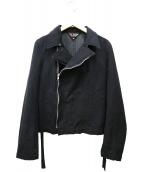 BLACK COMME des GARCONS(ブラックコムデギャルソン)の古着「デザインジャケット」|ブラック