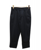 BLACK COMME des GARCONS(ブラックコムデギャルソン)の古着「デザインスラックス」|ブラック