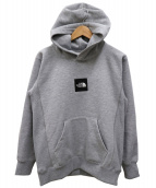 THE NORTH FACE(ザノースフェイス)の古着「HEATHER LOGO BIG HOODIE」
