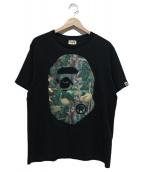A BATHING APE(ア ベイシング エイプ)の古着「プリントTシャツ」 ブラック