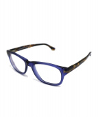 TOM FORD(トム フォード)の古着「伊達眼鏡」|ネイビー×ブラウン