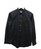 JUNYA WATANABE COMME des GARCONS(ジュンヤワタナベ コムデギャルソン)の古着「スパンコールポケットシャツ」