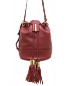 SEE BY CHLOE(シーバイクロエ)の古着「Vicki Small Bucket Bag」|パープル