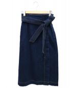 BEAUTY&YOUTH UNITED ARROWS(ビューティーアンドユース ユナイテッドアローズ)の古着「デニムスカート」|インディゴ
