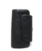Barbe-Bleue(バルブ・ブルー)の古着「クロコレザーキーケース」|ブラック