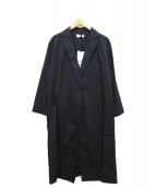 PLST(プラステ)の古着「テーラードラインコート」 ブラック