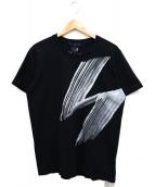 GROUND Y(グラウンドワイ)の古着「GRAPHIC T-SHIRT」|ブラック