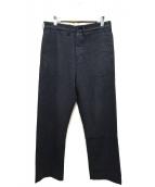 TENDERLOIN(テンダーロイン)の古着「ヘビーウールバトルワークパンツ」|グレー