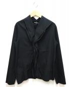 tricot COMME des GARCONS(トリココムデギャルソン)の古着「デザインロングスリーブシャツ」|ブラック