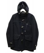 nanamica(ナナミカ)の古着「GORE-TEX WOOL DUFFLE COAT」|ブラック