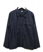 DESCENTE PAUSE(デサントポーズ)の古着「UTILITY SHIRT」|ブラック