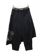 FRAPBOIS(フラボア)の古着「ナガシュウパンツ」|ブラック