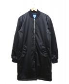 adidas originals(アディダスオリジナルス)の古着「SST HZO BOMBER」|ブラック
