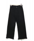 Deuxieme Classe(ドゥーズィエム クラス)の古着「PAN NEW BAGGY PANTS」|ブラック